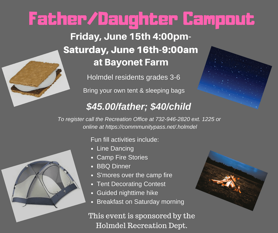 Daddy Daughter Campout 2018