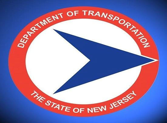 The logo for the New Jersey Department of Transportation